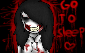 [Jeff the Killer] ~ .Go. .To. .S L E E P. by InsaneCuteKitty
