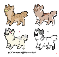 horned doggie adopts by doomsdayCanine
