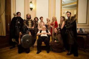 Meeting George R. R. Martin! by sjbonnar