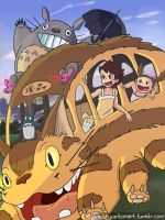 Catbus! by InAmberClad