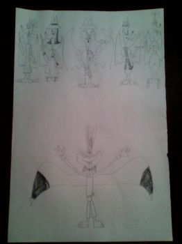 Roger Rabbit and the Weasels with Wings by d00mshr00m