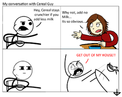 My Conversation with Ceral Guy by MedicApprentice