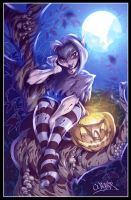 halloween girl by wagnerf