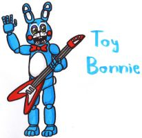 Toy Bonnie by YouCanDrawIt