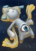 Jirachi's Eye by MeAndMyRobot