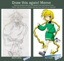 Draw to Renata again meme by Angelus19