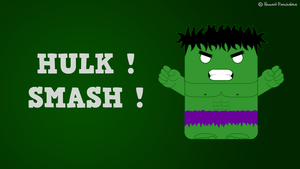 HULK ! SMASH ! by Basolian