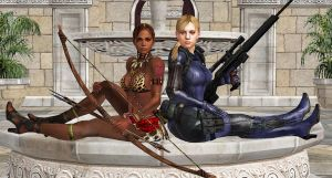 Jill and Sheva-BSAA PARTNERS-2 by blw7920