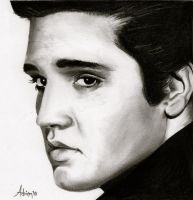Elvis Presley by Frenchtouch29