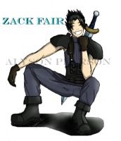 Zack Fair by minako55nz