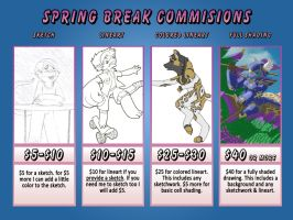 Spring Break Commission Time by 0g0p0g0