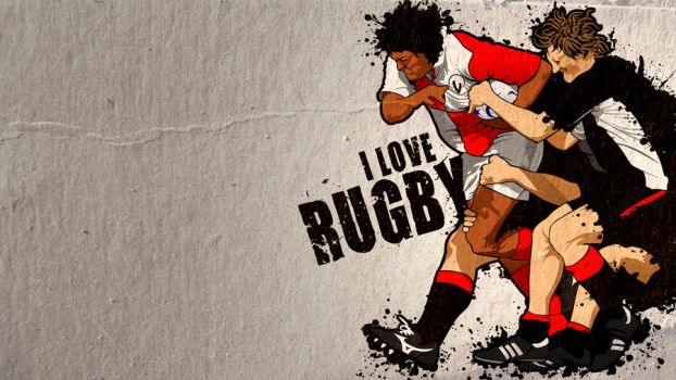 I Love Rugby by JValle
