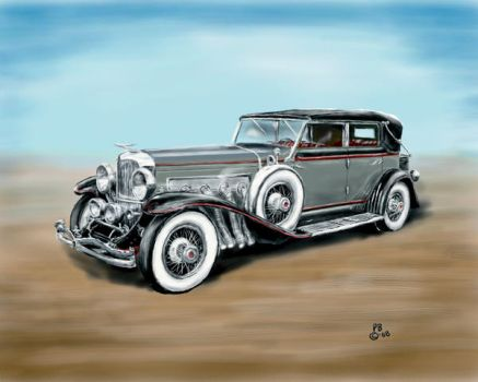 1929 Duesenberg J by Belote-Art
