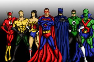 The Justice League of America 2 by dave365