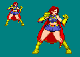 Sprite Work: Mindy Marvel by SXGodzilla