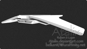 A new ship WIP by Atalix