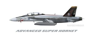 ADVANCED SUPER HORNET by fighterman35