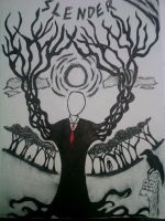 Slenderman COMPLETED by VisionsOfAgony