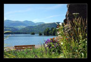 Lac Chambon by GregColl