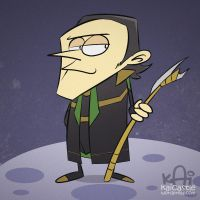 Loki by kaicastle