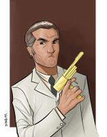 The Man With The Golden Gun by Supajoe