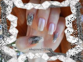 Lace Nails by elegance2255