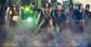 Justice League by SimmonBeresford