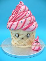 Ice-cream Cake by ginas-cakes