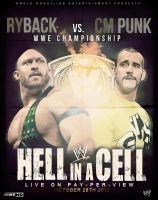 CM Punk vs. Ryback Poster by isharkfeli