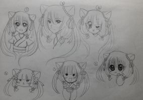 Karu in different styles by OchaHolique