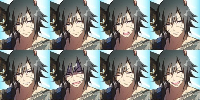 FFXIV in OVERWATCH - G'azih (expressions) by DarkHHHHHH