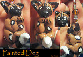 Painted Dog Charm Trade by HollieBollie