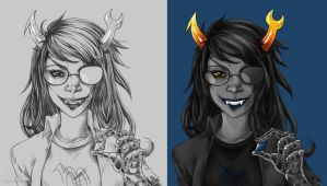 Vriska by PenWinter
