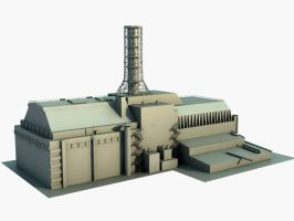 Nuclear power station WIP by Max-CCCP