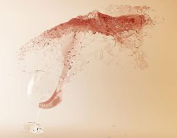 Wine Splash by SaiogaMan
