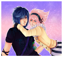[CM] Laurie and Alie by SirensReverie