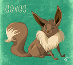 133 Eevee by shayfifearts