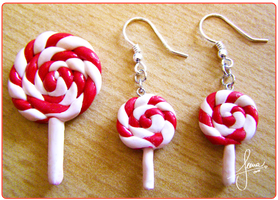 Lolly Earrings by SweetDeco