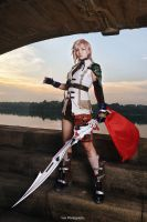 Final Fantasy XIII - Lightning by vaxzone