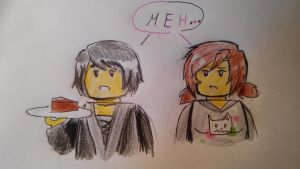 Katty in Ninjago 13# - Katty and Cole by Squira130
