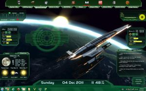 Mass Effect Colonist Rainmeter Skin by RickF7666