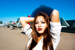 Amy at Miramar Air Museum 7 by trevor-w