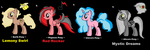 MLP Adoptables - CLOSED by iPandacakes