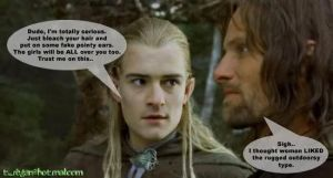In which Legolas teaches by Greeneyesmetblack