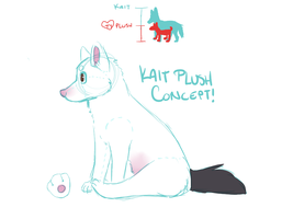 kait plush concept by catfarts