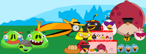Angry birds group picture. by CarlosAshgalde