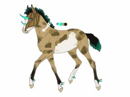 4592 Padro Foal Design for Onifia by shockmyworld12