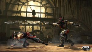 Kung Lao Vs. Scorpion in MK9 by Princess-Flopy-13
