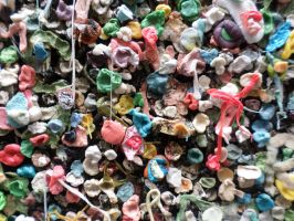 Seattle's Gum Wall by EscapeFromWithin