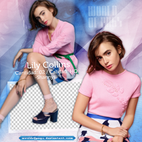 Pack Png 465 - Lily Collins by worldofpngs